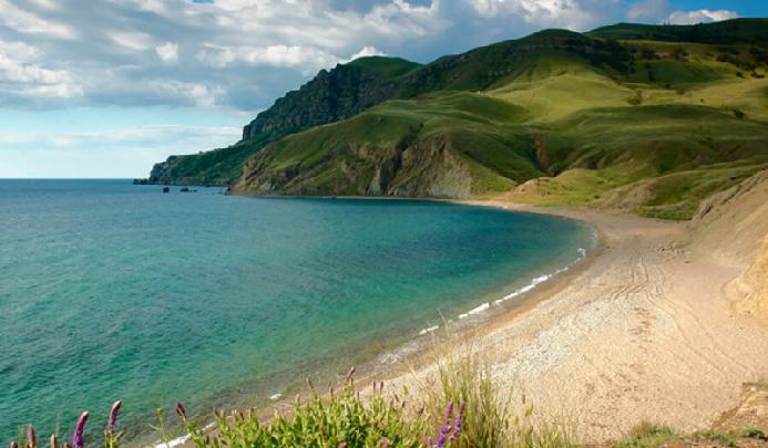 Пляжи Судака фото, отзывы
