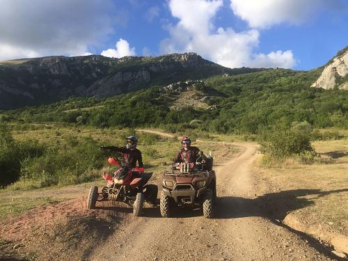 Экскурсии по Крыму на квадрациклах