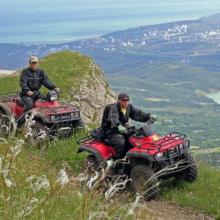 Туры, экскурсии и прогулки на квадроциклах в Крыму: выбираем маршрут!
