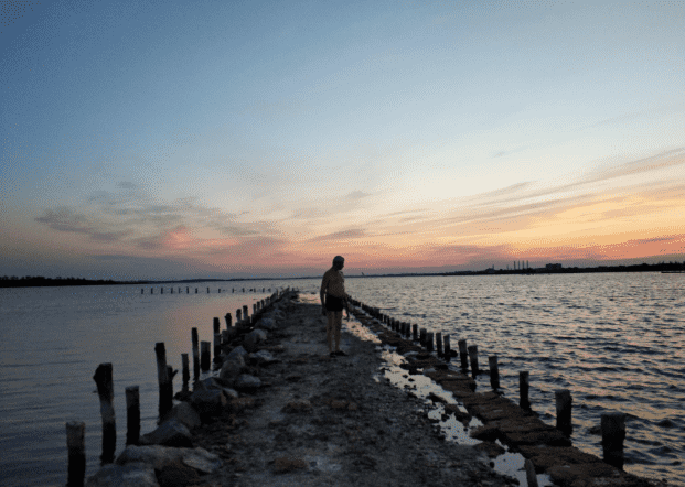 Сакское озеро, Крым фото 3