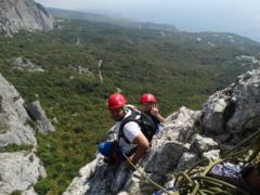 Скалолазание и альпинизм в Крыму
