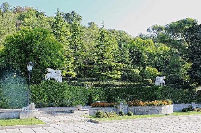 Юсуповский дворец в Крыму фото 1