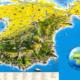 Подробная карта Крыма с городами и поселками