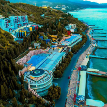 Лучшие отели Крыма с аквапарком на территории (2021)