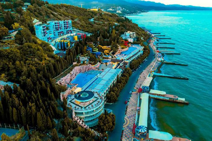 Отели с аквапарком в Крыму
