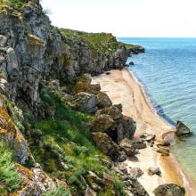 Генеральские пляжи в Керчи: фото, описание