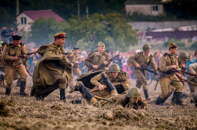 Военно-исторический фестиваль в Севастополе