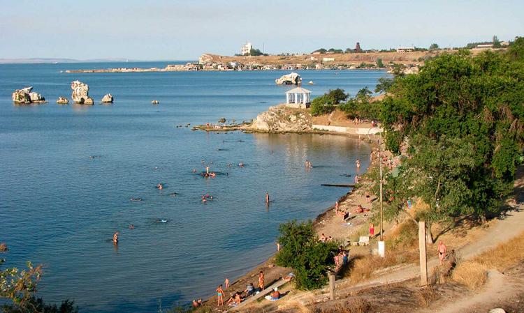 Пляжи в Керчи фото