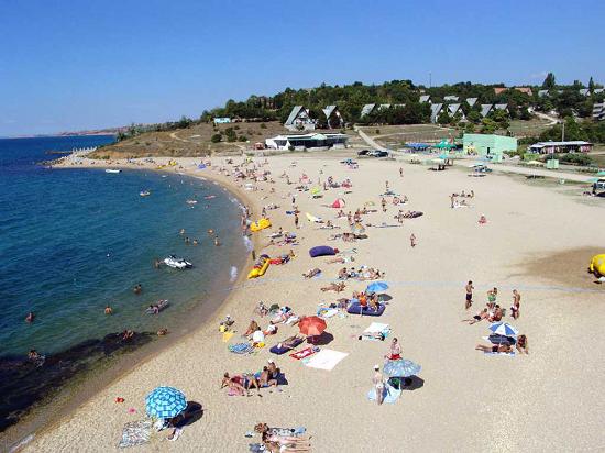 Пляжный отдых в Ялте