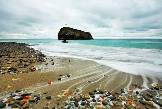 Яшмовый пляж в Севастополе