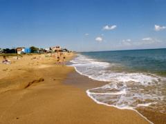 Золотой пляж в Феодосии: фото, видео