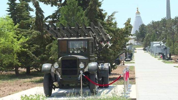 Музей военной техники н а Сапун горе