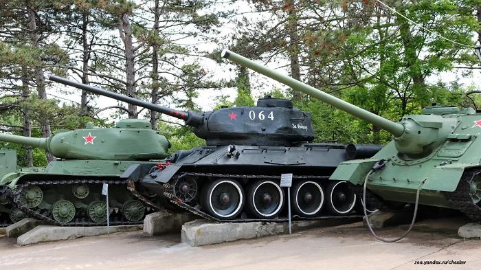 Музей военной техники на Сапун горе фото