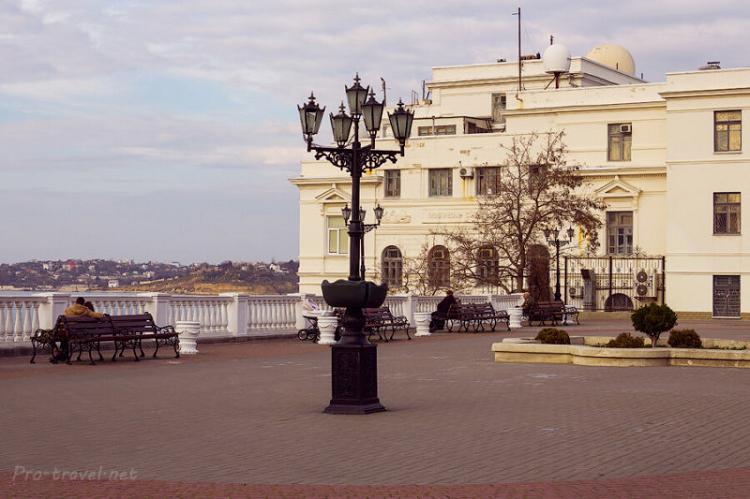 Приморский бульвар фото 1