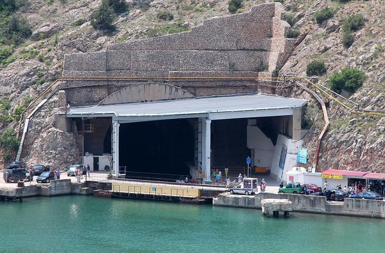 Музей подводных лодок в Балаклаве фото 1