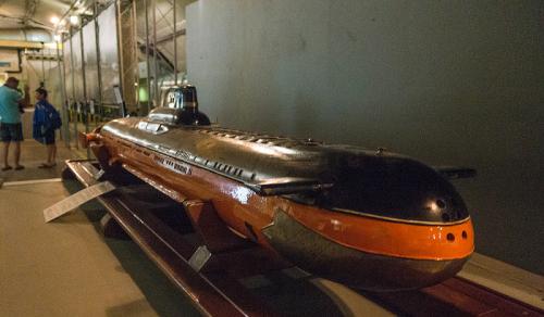 В музее подводных лодок Балаклава фото 4