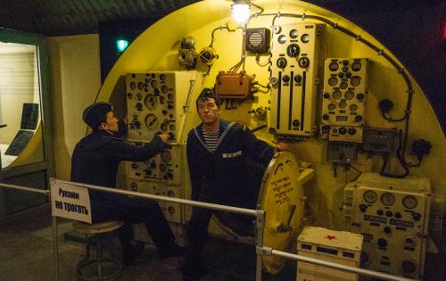 В музее подводных лодок Балаклава фото 5