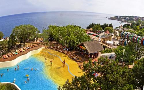 аквапарк голубой залив симеиз фото