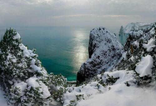 Крым зимой фото 2