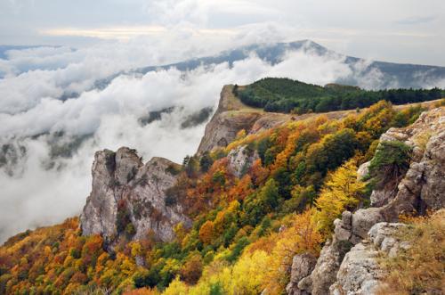 Осень в Крымских горах фото 1