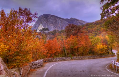 Осень в Крымских горах фото 10
