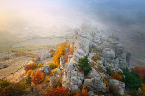 Осень в Крымских горах фото 3