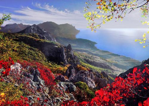 Осень в Крымских горах фото 6