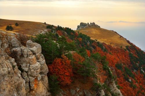 Осень в Крымских горах фото 7