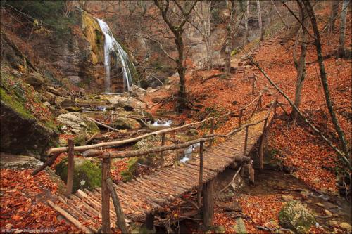 Осень в Крымских горах фото 8