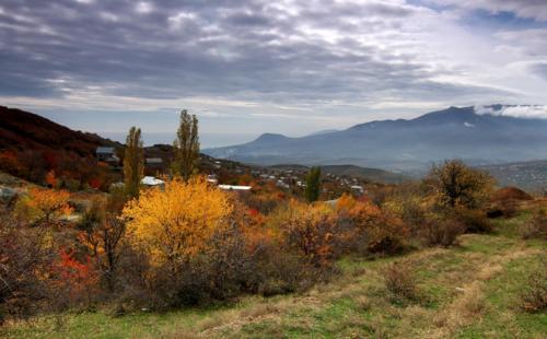 Осень в Крымских горах фото 9