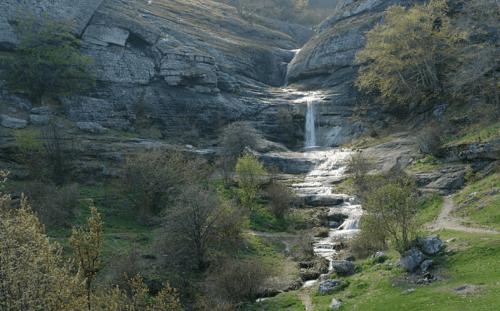 Водопад Джурла фото
