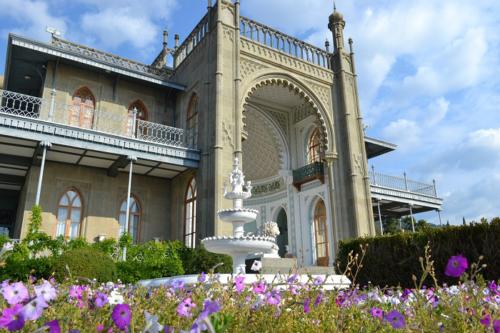 Воронцовский дворец в Крыму фото 2