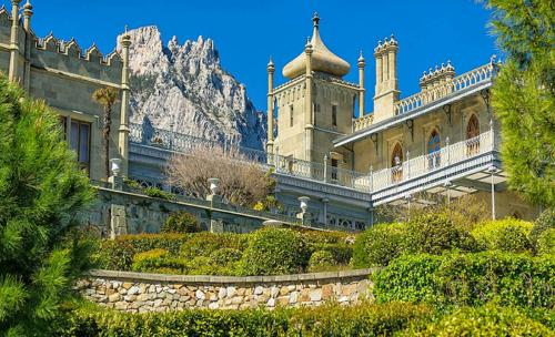 Воронцовский дворец в Крыму фото 3