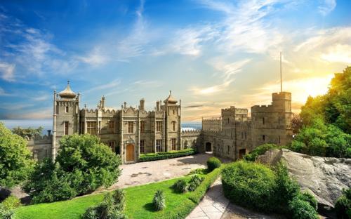 Воронцовский дворец в Крыму фото 4
