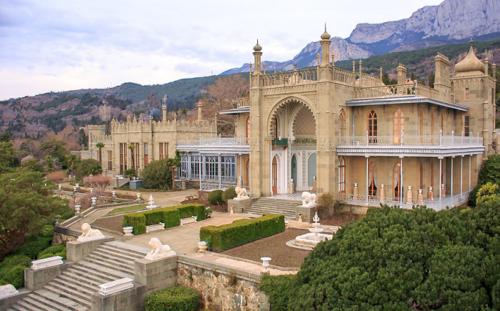 Воронцовский дворец в Крыму фото 5
