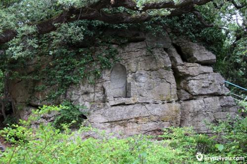 Дворец Дюльбер  молитвенная стена