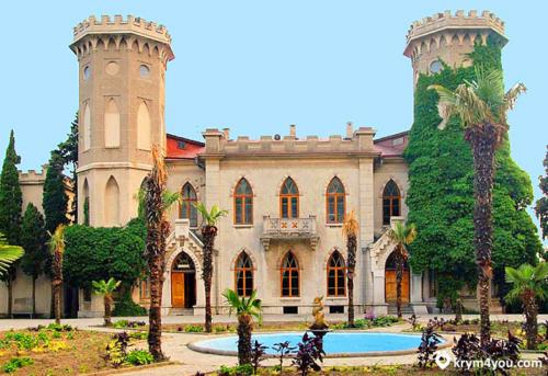 Дворец княгини Паниной в Крыму фото 1