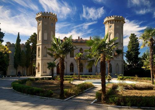 Дворец княгини Паниной в Крыму фото 2