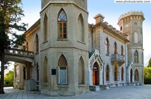 Дворец княгини Паниной в Крыму фото 3