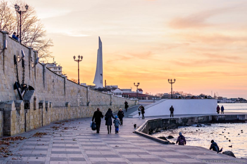Набережная в Севастополе фото 4