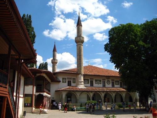 Ханский дворец в Бахчисарае фото 1