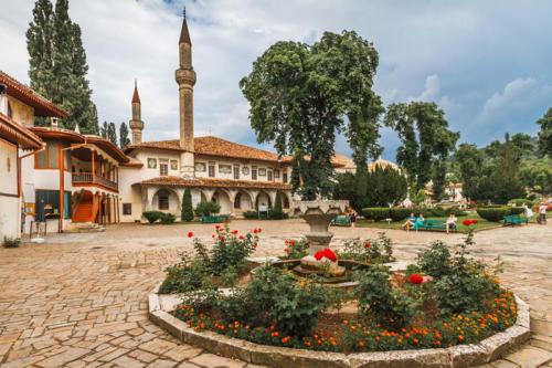 Ханский дворец в Бахчисарае фото 4
